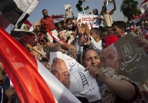 Тысячи людей на площади Тахрир празднуют победу Мурси