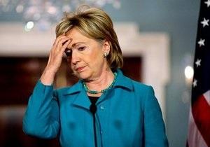 Клинтон раскритиковала украинские выборы