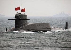 СМИ: На китайской атомной подлодке произошла утечка радиации