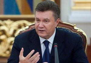 Янукович заявил, что его поразила смерть участника акции чернобыльцев в Донецке