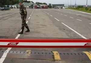 Россиянка на автомобиле сбила шлагбаум, нарушив белорусско-украинскую границу