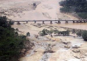 Жертвами наводнения в Таиланде стали 54 человека