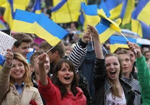 Сегодня Украина празднует 21-ую годовщину независимости