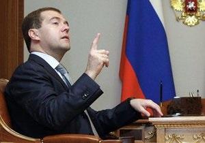 Медведев о Беларуси: Я надеюсь, что они будут осмотрительнее