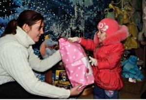 Магазин подарков «Город сказок» вручил награды детям, авторам писем Деду Морозу