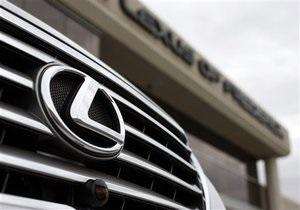 Дело: В Киеве за полгода продали более трехсот автомобилей Lexus