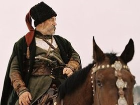 На Хортице открыли памятник Тарасу Бульбе