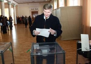 Ахметов проголосовал за экономический рост и создание новых рабочих мест