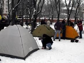 Во Львове начался бессрочный пикет Генконсульства России