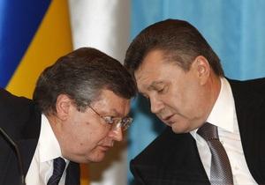 Ъ: Янукович пригрозил Грищенко отставкой в случае провала переговоров с ЕС