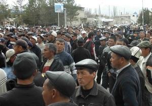 На юге Кыргызстана начались митинги. В Джалал-Абаде готовятся защищать Бакиева