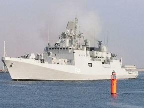 Индийский фрегат потопил пиратское судно