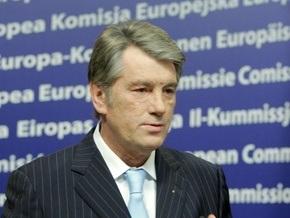 Ющенко призвал Европу не вмешиваться в его отношения с Тимошенко
