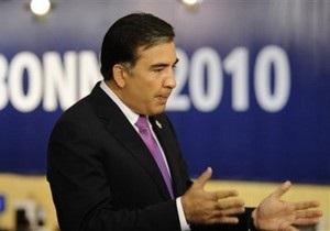 Саакашвили: Грузия вступит в НАТО без Украины