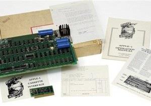 Первый компьютер Apple продан за 210 тысяч долларов
