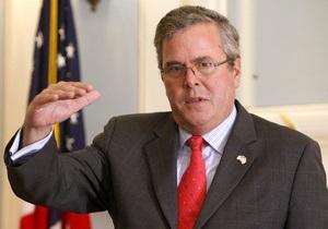 Брат Джорджа Буша отказался от поста вице-президента при Ромни