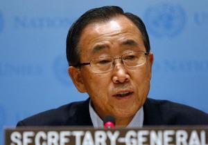 Генсек ООН: Мы рассматриваем ситуацию в Ливии с особенным беспокойством