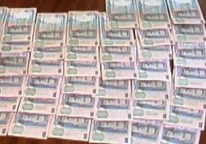 Трое граждан Молдовы за неделю сняли со счетов в Украине 100 тысяч гривен