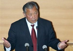 Президент Кыргызстана готовит обращение к народу