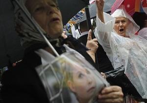 Тимошенко могут начать принудительно кормить - ГПС