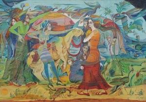 В Киеве открывается выставка любимой художницы Саакашвили