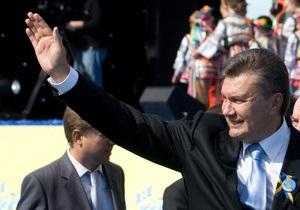 Янукович обещает преобразовать Киев в настоящую европейскую столицу