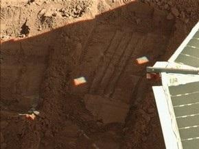 Марсианский зонд добыл очередной образец грунта