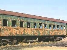 В Запорожье пытались сдать вагон на металлолом