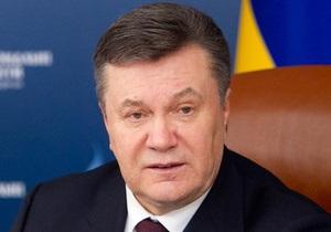 Янукович рассказал о планах по разгосударствлению СМИ
