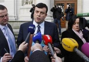 Ирландия признала необходимость финансовой помощи