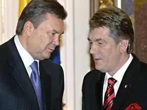В БЮТ считают, что Ющенко своим наследником видит Януковича