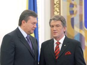 Янукович: К президентскому проекту изменений в Конституцию нельзя относиться серьезно