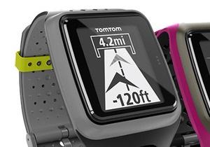 TomTom представила часы c GPS-модулем для спортсменов