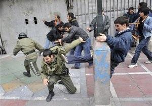 Беспорядки в Иране: арестованы лидеры оппозиции