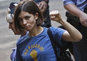 Фотогалерея: No pasaran. Суд над участницами Pussy Riot