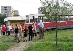 В Киеве трамвай переехал пенсионерку и скрылся с места происшествия
