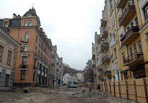 Андреевский спуск после ремонта планируют открыть ко Дню Киева