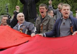 МВД назвало число пострадавших во время столкновений во Львове