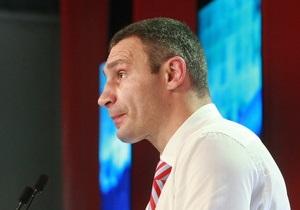 Кличко прокомментировал возможный результат УДАРа на выборах