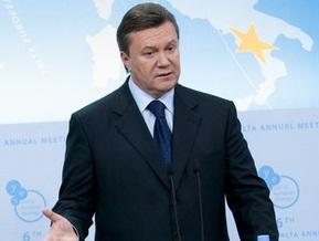 Янукович: Партия регионов не может быть в коалиции с  оранжевой  командой