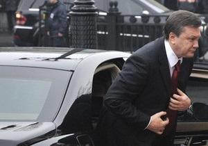 СМИ: Для кортежа Януковича открыли Гаванский мост