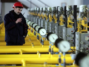 За сутки Украина получила из РФ 289,7 млн кубометров газа