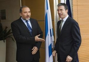 Расмуссен рассказал, когда НАТО примет участие в мирном процессе на Ближнем Востоке