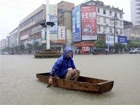 Наводнение в Китае унесло жизни 16 человек