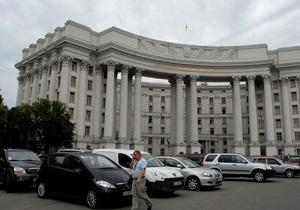 МИД: Украина воспринимает Россию как партнера, а не угрозу, и надеется на укрепление отношений с НАТО