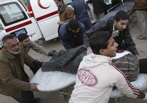 Жертвами взрыва в Ираке стали восемь человек