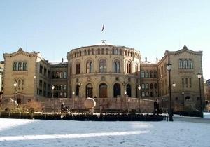 Норвежская полиция арестовала мужчину, грозившего взорвать парламент