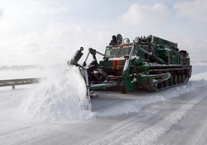 новости Тернопольской области - непогода - снегопады - В Тернопольской области спасатели за сутки расчистили почти 200 км дорог