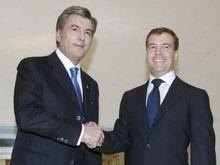 Медведев предупредил Ющенко о последствиях членства Украины в НАТО