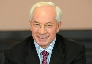 Азаров оставил в Москве министров энергетики и юстиции обсуждать газовые контракты